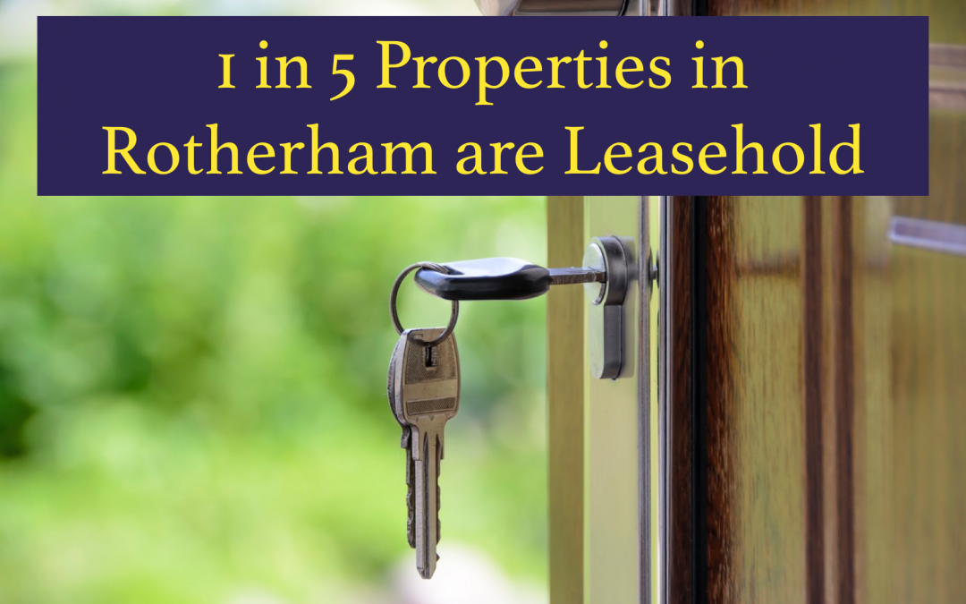 1 in 5 Rotherham Properties are Leasehold