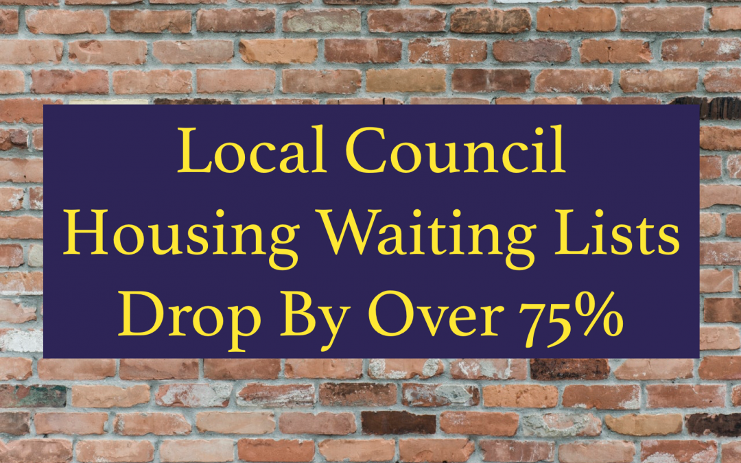 Council House Waiting List in Rotherham Drops by 77.3% in last 4 years