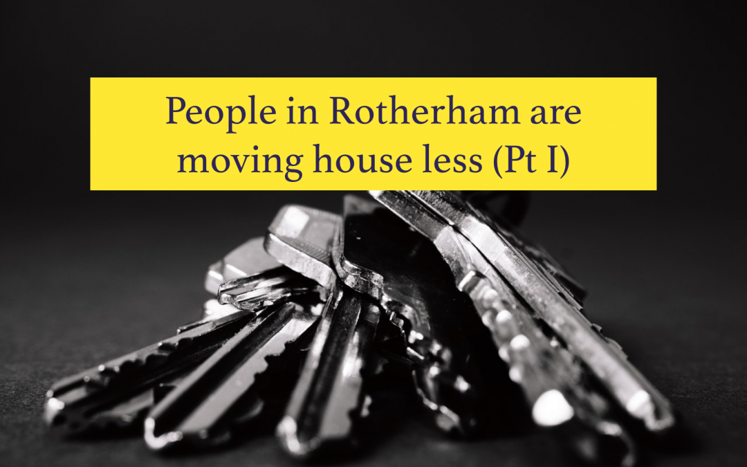 People in Rotherham are moving less (Pt 1)