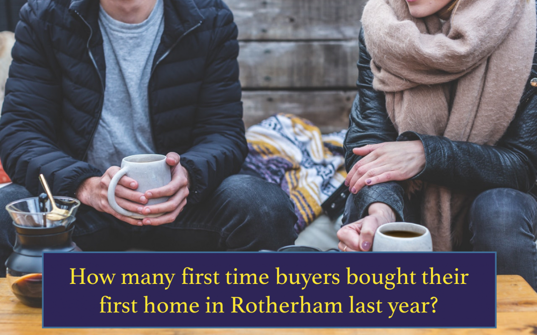 How Many First Time Buyers Bought Their First Home in Rotherham in 2017?