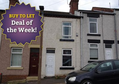 2 bedroom terraced house for sale on Sandhill Road, Rawmarsh