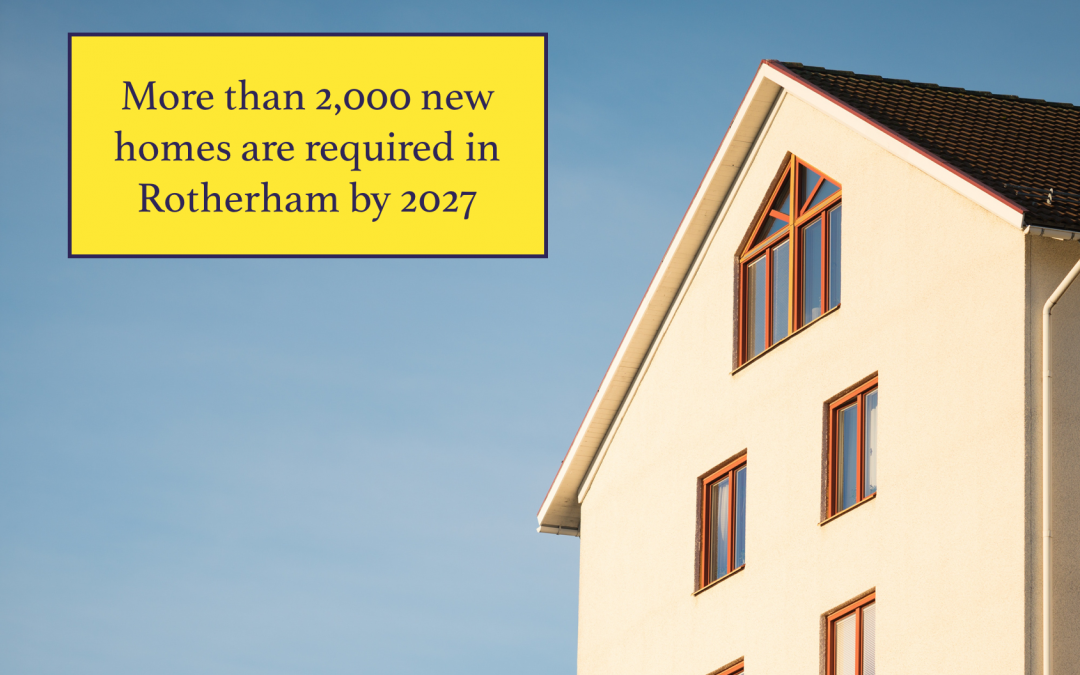 More than 2,000 new homes are required in Rotherham by 2027