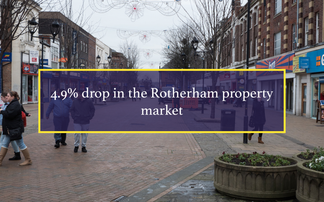 4.9% drop in the Rotherham property market